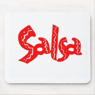 ¡Productos del logotipo de la danza de la salsa! Tapete De Raton