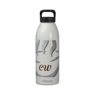 Productos del LOGOTIPO del Web de Café Botella De Agua