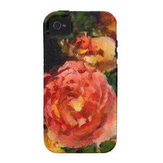 Productos del melocotón y del naranja Case-Mate iPhone 4 fundas