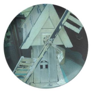 Productos del molino de viento platos
