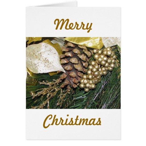 Productos del navidad tarjeta de felicitación