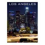 Productos del papel de la noche de Los Ángeles Postales