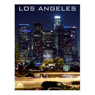 Productos del papel de la noche de Los Ángeles Tarjeta Postal