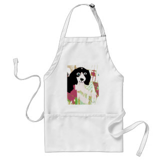 Productos del perrito del beagle delantal