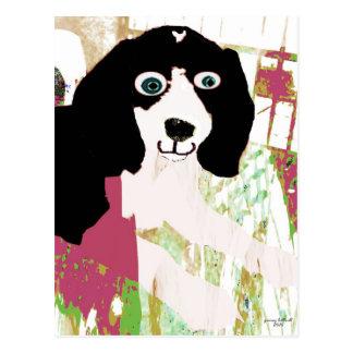 Productos del perrito del beagle postal