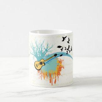 Productos del personalizado de la guitarra taza de café
