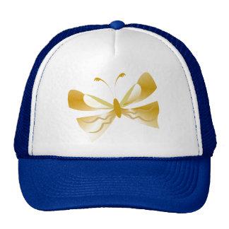 Productos del personalizado de la mariposa del oro gorras de camionero