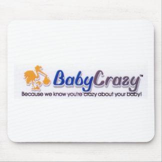 Productos del regalo del logotipo de BabyCrazy Mouse Pads