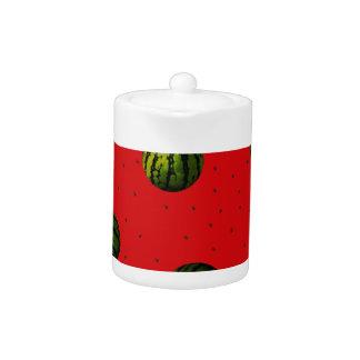 productos del rojo de las sandías y de las semilla
