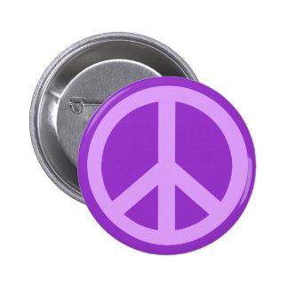 Productos del signo de la paz de la lila pin