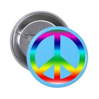 Productos del signo de la paz del arco iris pin