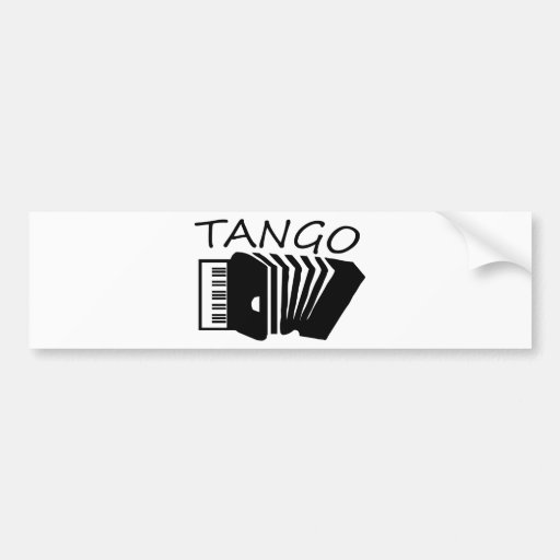 ¡Productos del tango! Pegatina Para Auto
