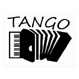 ¡Productos del tango! Tarjeta Postal