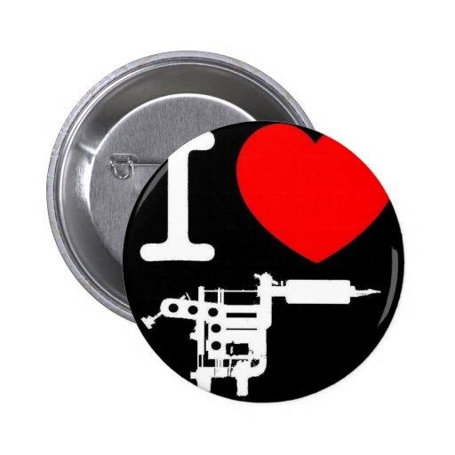 productos del tatuaje del corazón i pin