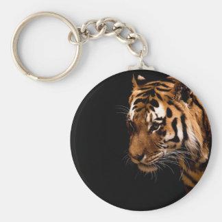 Productos del tigre llavero redondo tipo pin