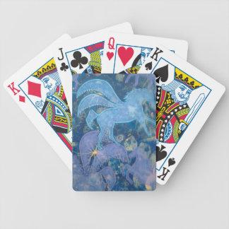Productos del unicornio baraja de cartas
