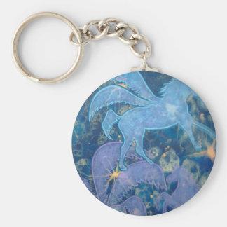 Productos del unicornio llavero redondo tipo pin