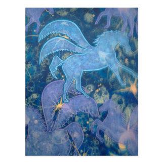 Productos del unicornio tarjetas postales