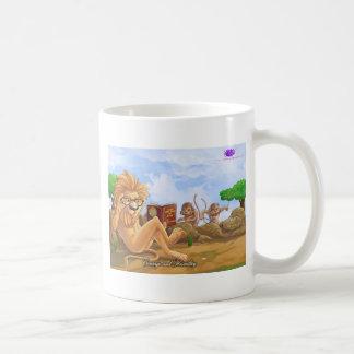 Productos del valor y de la humildad tazas de café