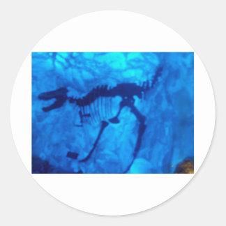 Productos del Velociraptor Etiqueta Redonda