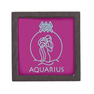 Productos del zodiaco del acuario cajas de regalo de calidad