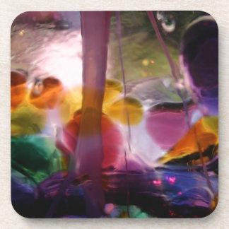 Productos diseñados abstractos multicolores posavaso