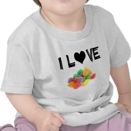 ¡Productos divertidos de los caramelos! Camisetas