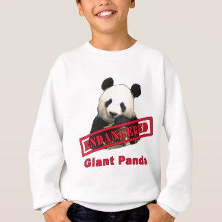 Productos en peligro de la panda gigante sudadera