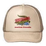 Productos en peligro del cocodrilo americano gorras