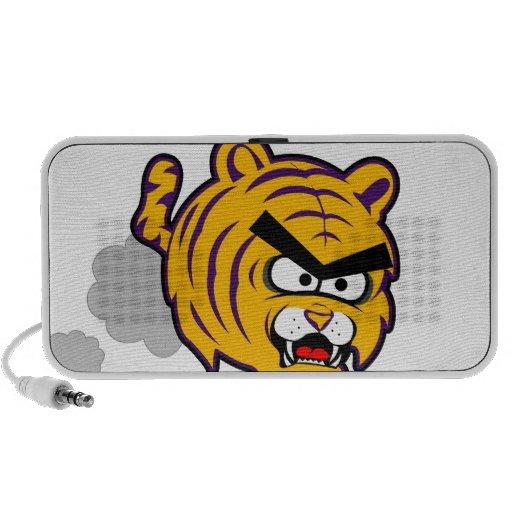 Productos enojados de los tigres de la independenc altavoz de viajar