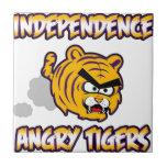 Productos enojados de los tigres de la independenc teja