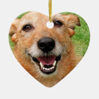 Productos felices del perro del fallecimiento gruñ adorno de reyes