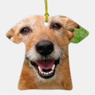 Productos felices del perro del fallecimiento gruñ ornamento de reyes magos