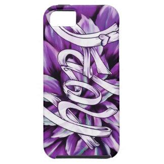 Productos florales de la esperanza del cáncer funda para iPhone 5 tough