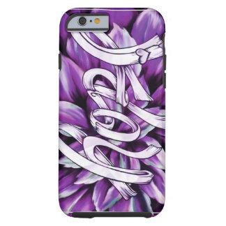 Productos florales de la esperanza del cáncer funda para iPhone 6 tough