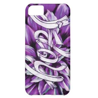 Productos florales de la esperanza del cáncer panc funda para iPhone 5C