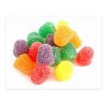 ¡Productos frescos de los caramelos! Postal