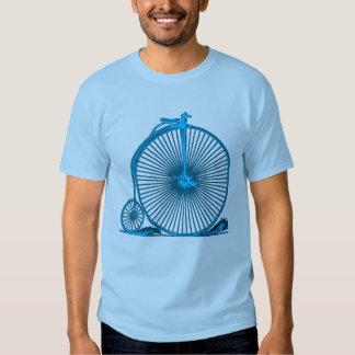 Productos frescos del ejemplo de la bicicleta del remera