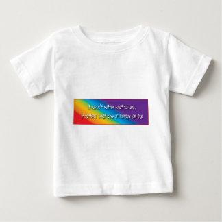 Productos gay respetuosos playera para bebé