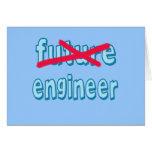 Productos graduados del ingeniero felicitación
