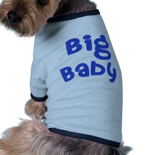 Productos grandes del día de padre del bebé camiseta con mangas para perro