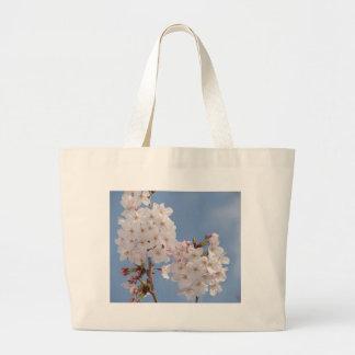 Productos hechos en casa de las flores de Sakura Bolsa Lienzo