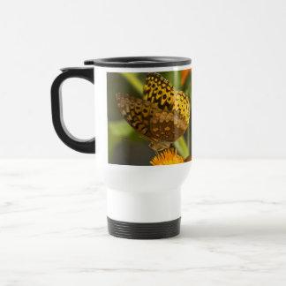 Productos hermosos del múltiplo de la mariposa taza de viaje