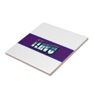 Productos impresos amor azulejo cuadrado pequeño