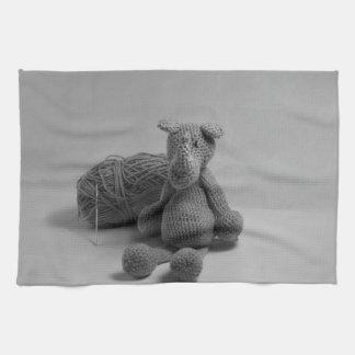 Productos lindos del diseño del rinoceronte toallas de cocina