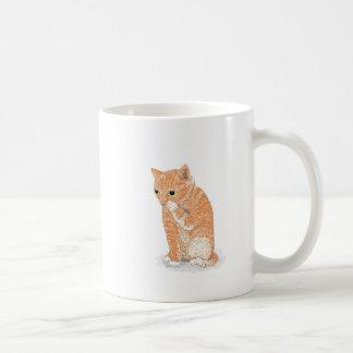 Productos lindos del gatito taza