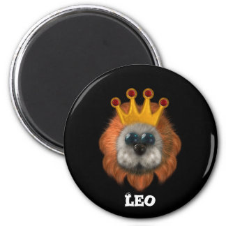 Productos lindos del zodiaco de Leo Imán Para Frigorifico
