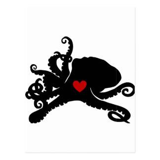 Productos manchados de tinta del logotipo de Poo Tarjetas Postales
