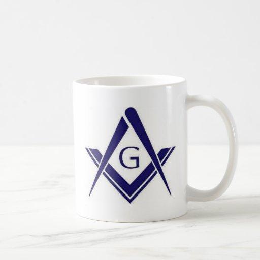 """Productos masónicos de """"G"""" Tazas De Café"""