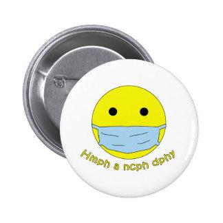 Productos médicos del humor pin redondo de 2 pulgadas